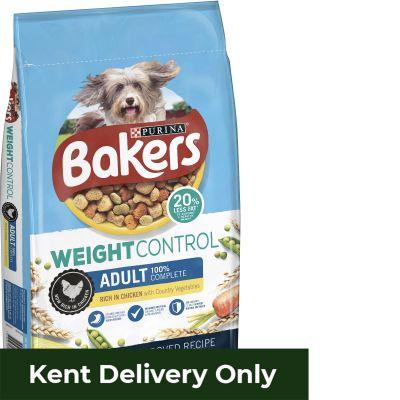 Bakers Weight Control Chicken & Veg 12.5kg