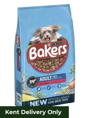 Bakers Adult Beef & Vegetables 14kg