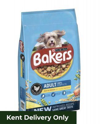 Bakers Adult Chicken & Veg 14kg