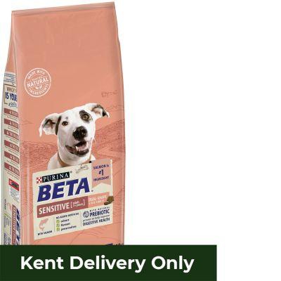 Beta Sensitive Dog Salmon & Rice 14Kg