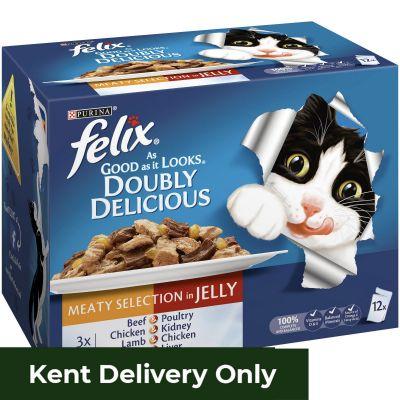 Felix AGAIL DD Meaty Selection in Jelly 12 x 100g