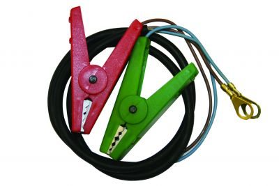 Croc Clips & Leads with M8 Ring Ends