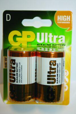 D-Cell battery Pk 2