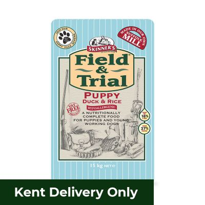 Skinners Field & Trial Puppy Duck and Rice 15kg