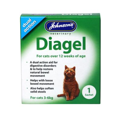 Johnsons Diagel for cats over 12 weeks 3-6kg