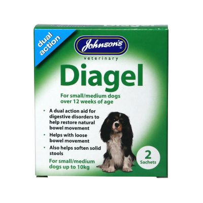Johnsons Diagel for Dogs over 12 weeks up to 10kg