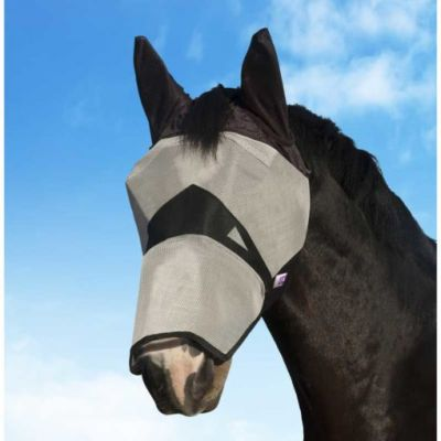 KM Elite Fly Mask with Nose & Ears