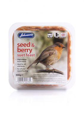 Johnsons Wild Bird Suet Tray Fruit & Berry