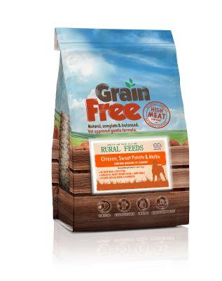 Rural Feeds Grain Free Chicken & Herb 2kg