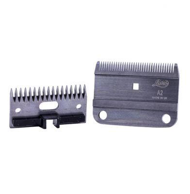 Lister A2/AC Medium Blade Set c/w Plastic Socket