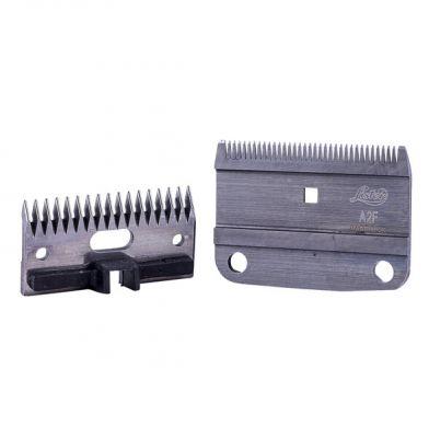 Lister A2F/AC Fine Blade Set c/w Plastic Socket