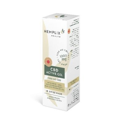 Hemplix Health Box Active Gel 1200mg 50ml UK