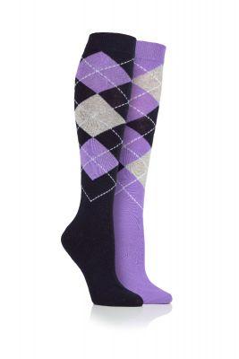 Adult Argyle Long Socks