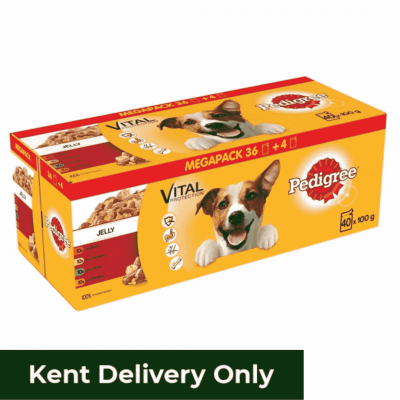 Pedigree Dog Pouches Mixed Jelly 100g 40 for 36