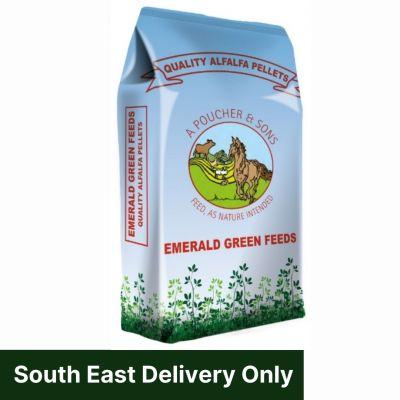 Emerald Green Alfalfa Pellets