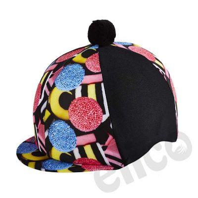 Elico Liquorice Allsorts Lycra Hat Silk Cover