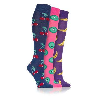 Fruity 3pk Novelty Socks