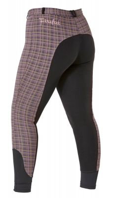 Firefoot Ladies Farsley Checked Breeches