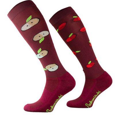 Novelty Adult Apples Socks