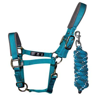 Woofwear Contour Head Collar & Lead Rope