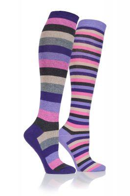 Junior Stripe Long Socks