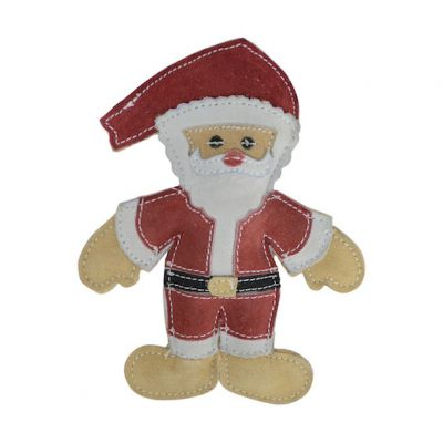 Natural Eco-Friends Santa Claus Dog Christmas  Toy