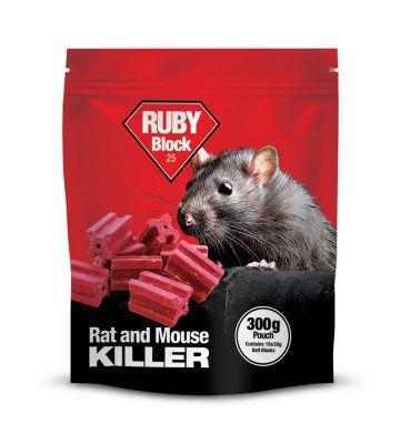 Ruby Rat Bait Blocks