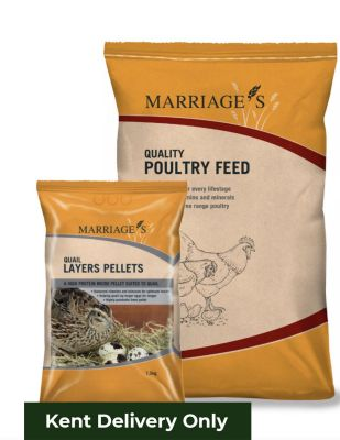 Marriages Quail Pellets 20kg