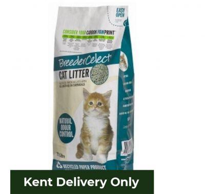 Breeder Celect Paper Cat Litter 30L