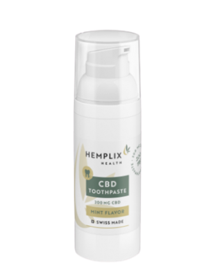 Hemplix Health Label Toothpaste 50ml UK