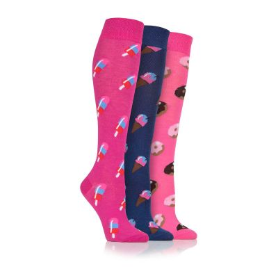 Treats 3pk Novelty Socks