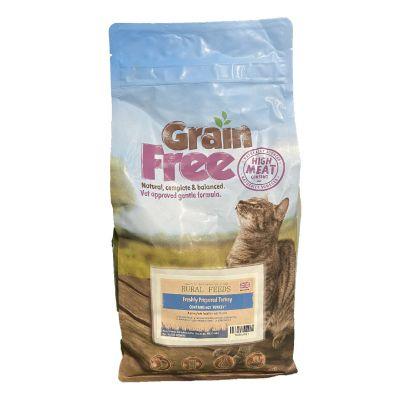 Rural Feeds Grain Free Adult Turkey Cat