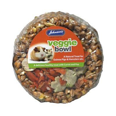 Johnsons Guinea Pig & Hamster Veggie Bowl