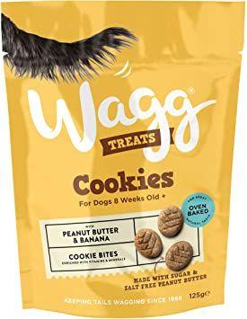 Wagg Cookie Treats Peanut & Banana 125g