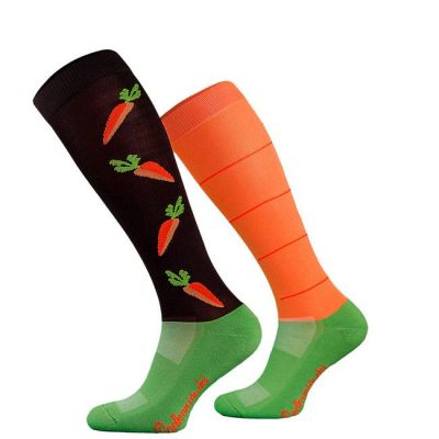 Novelty Adult Carrots Socks
