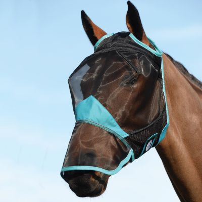 Weatherbeeta Comfitec Fine Mesh Fly Mask With Nose