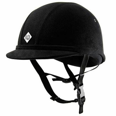 Charles Owen YR8 Peaked Riding Hat